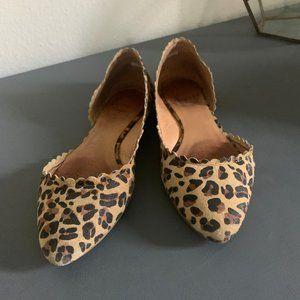 Jack Rogers Chantel Leopard D'Orsay Flats 6